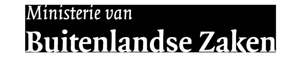 Logo ministerie van buitenlandse zaken